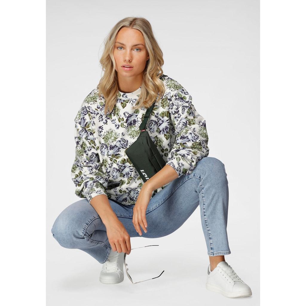 Levi's® Sweatshirt, mit floralem Allover-Druck