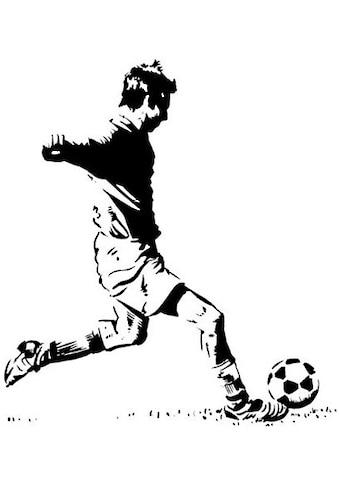 Wall-Art Wandtattoo »Wandaufkleber Fußballer 2« kaufen