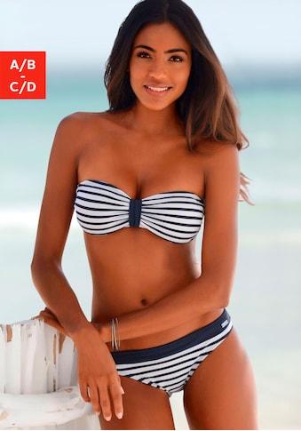Venice Beach Bandeau-Bikini-Top »Summer«, mit kontrastfarbener Schlaufe kaufen