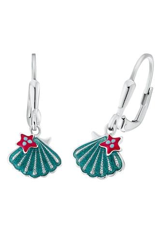 Prinzessin Lillifee Paar Ohrhänger »Muschel-Optik/Stern 2031163«, mit Emaille kaufen