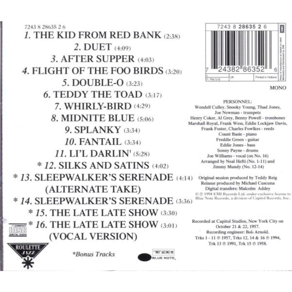 Musik-CD »Atomic Mr.Basie / Basie,Count & His Orchestra«