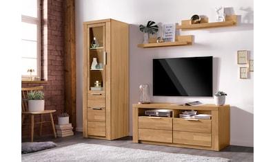 Woltra Wohnwand »Zara«, (Set, 4 St.), teilmassives Holz kaufen