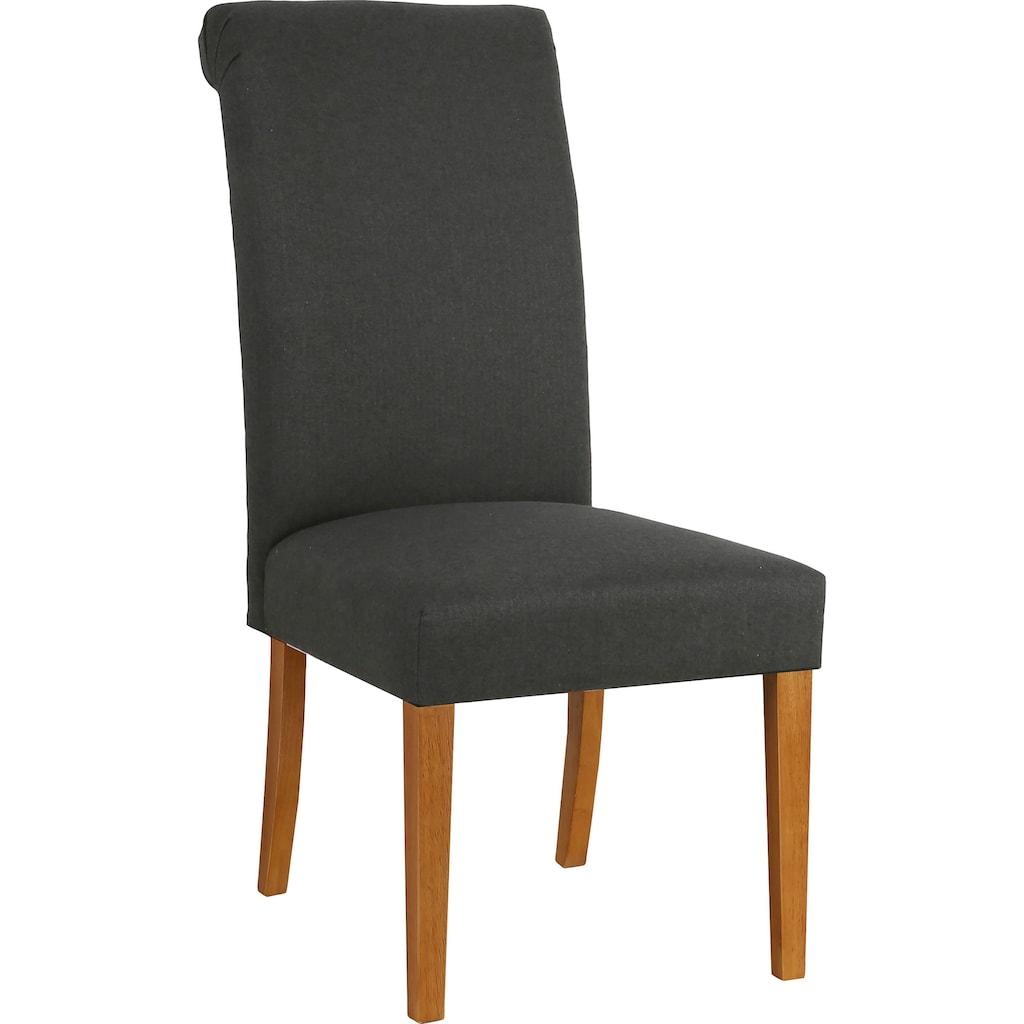 Home affaire Esszimmerstuhl »Fenris«, 2er-Set, mit gepolsteter Sitzfläche