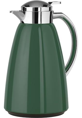 Emsa Isolierkanne »Campo«, 1 l, (1), Quick Tip Verschluss, 100% dicht, Glas-Isolierkolben kaufen