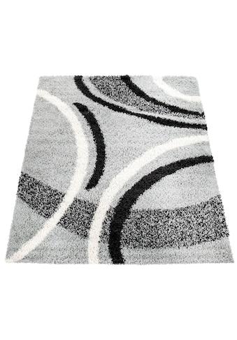 Hochflor - Teppich, »Mango 301«, Paco Home, rechteckig, Höhe 35 mm, maschinell gewebt kaufen