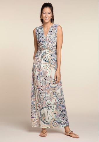 bianca Maxikleid »DINORAH«, im stylischen Paisley Muster und Knoten Detail kaufen