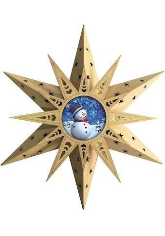 BONETTI LED Stern »Schneemann«, Warmweiß, mit Fernbedienung kaufen