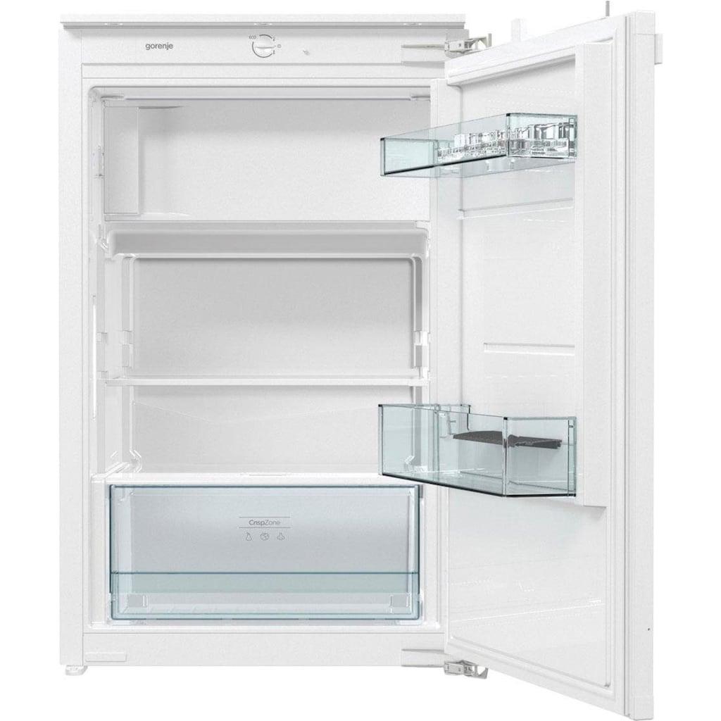 GORENJE Einbaukühlschrank »RBI2092E1«, integrierbar