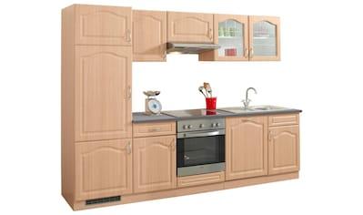 wiho Küchen Küchenzeile »Linz«, mit E-Geräten, Breite 280 cm kaufen