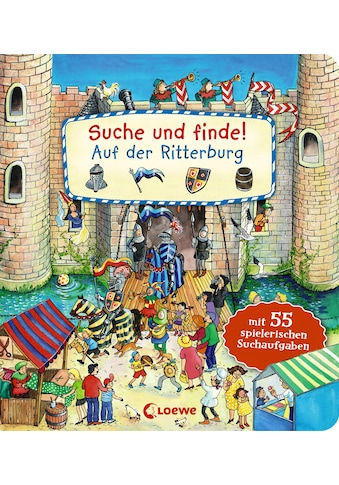 Buch »Suche und finde! - Auf der Ritterburg / Lila L. Leiber« kaufen