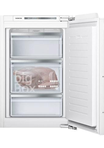 SIEMENS Einbaugefrierschrank »GI21VADD0«, iQ500, 87,4 cm hoch, 55,8 cm breit kaufen