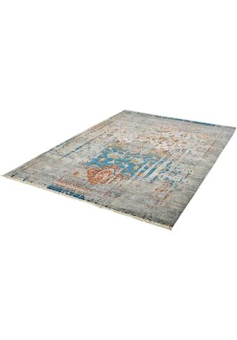 Obsession Teppich »My Laos 453«, rechteckig, 14 mm Höhe, Vintage Design, mit Fransen,... kaufen