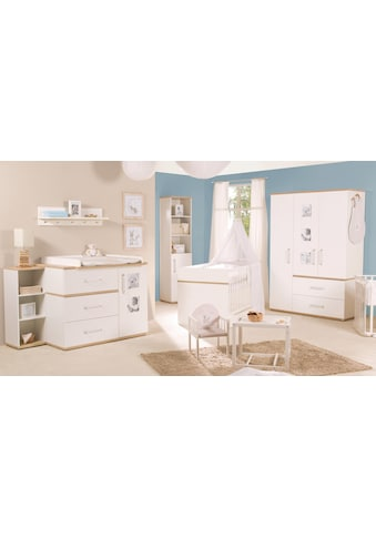 roba® Babyzimmer-Komplettset »Pia«, (Set, 3 St.), breit; mit Kinderbett, Schrank und... kaufen