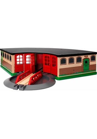 BRIO® Spielzeugeisenbahn-Gebäude »BRIO® WORLD Großer Ringlokschuppen«, FSC® - schützt... kaufen