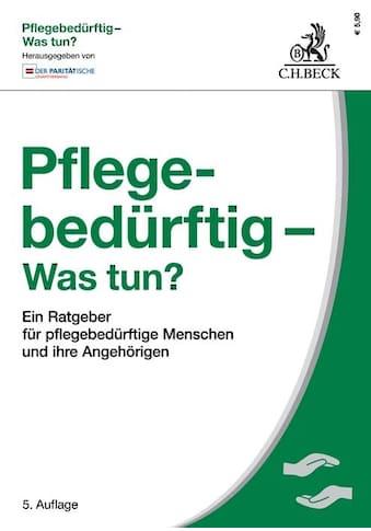 Buch »Pflegebedürftig - Was tun? / Wolfgang Müller, Der Paritätische Gesamtverband,... kaufen