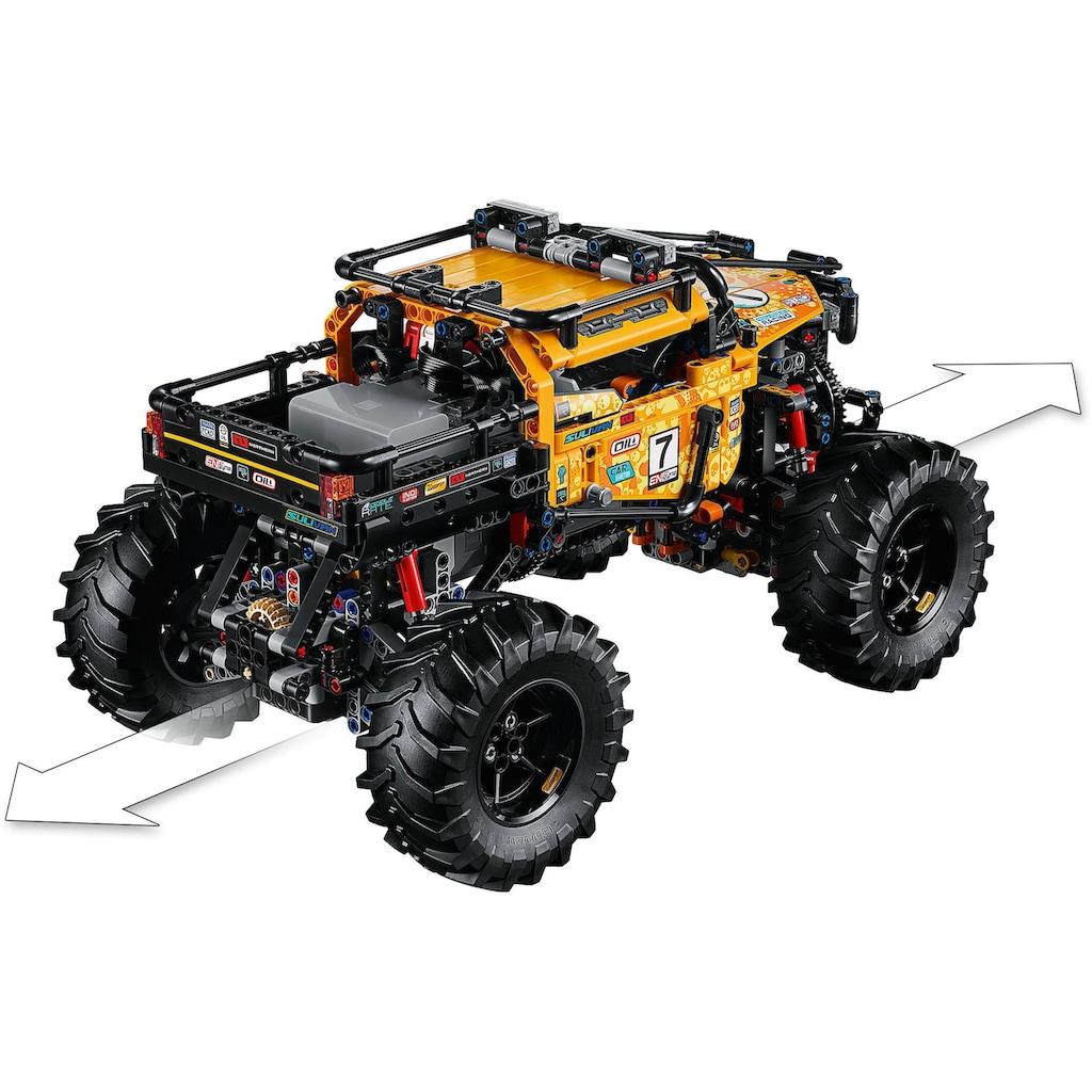 LEGO® Konstruktionsspielsteine »Allrad Xtreme-Geländewagen (42099), LEGO® Technic«, (958 St.)
