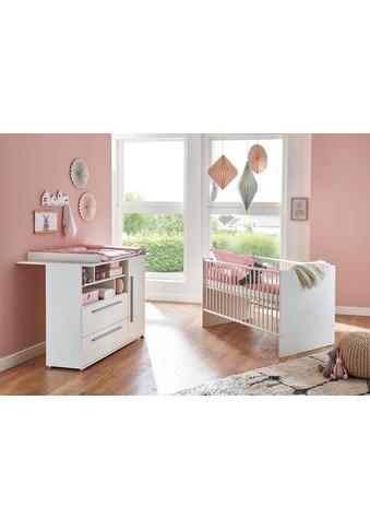 arthur berndt Babymöbel-Set »Romy«, (Spar-Set, 2 St.), mit Kinderbett und... kaufen