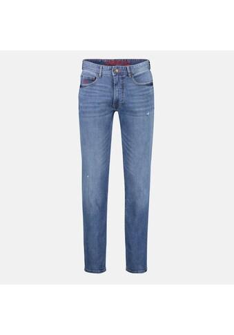 LERROS Stretch-Jeans »ARUN«, in leichter Used-Optik, Highlight: Handy-Stecktasche kaufen