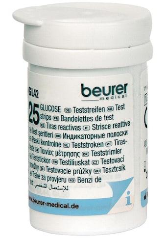 BEURER Blutzucker-Teststreifen »GL 42/ GL 43«, zur Verwendung mit dem Beurer Blutzucker-Messgerät kaufen
