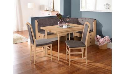 Home affaire Esszimmerstuhl »Paris«, 2er Set, mit schönem Webstoff Bezug und Holzgestell, Sitzhöhe 47,5 cm kaufen