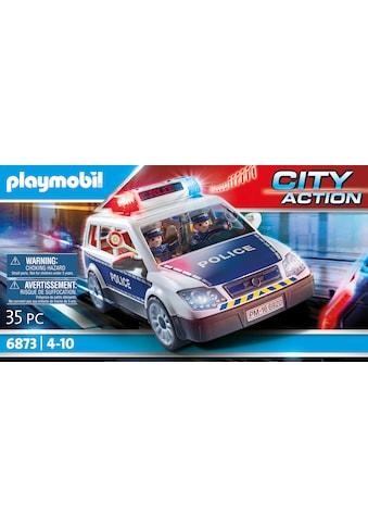 Playmobil® Konstruktions-Spielset »Polizei-Einsatzwagen (6873), City Action«, (35... kaufen