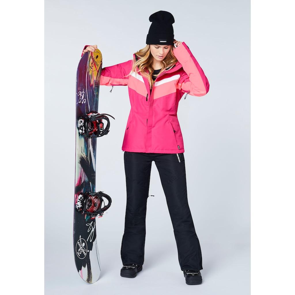 Chiemsee Skijacke »mit Kontraststreifen«