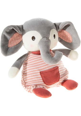 Heunec® Plüschfigur »FrohNATURen Elefant Plüschi, cranberry«, GOTS organic,... kaufen