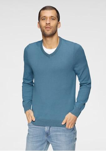 OTTO products V-Ausschnitt-Pullover »GOTS zertifiziert – nachhaltig aus Bio-Baumwolle« kaufen