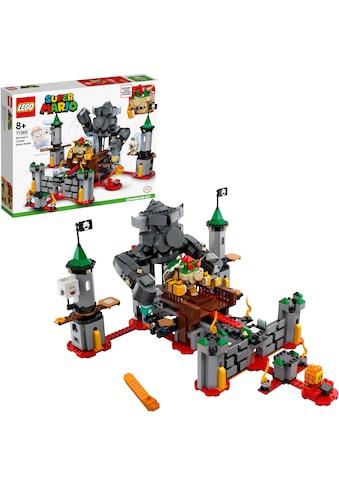 LEGO® Konstruktionsspielsteine »Bowsers Festung – Erweiterungsset (71369), LEGO® Super... kaufen