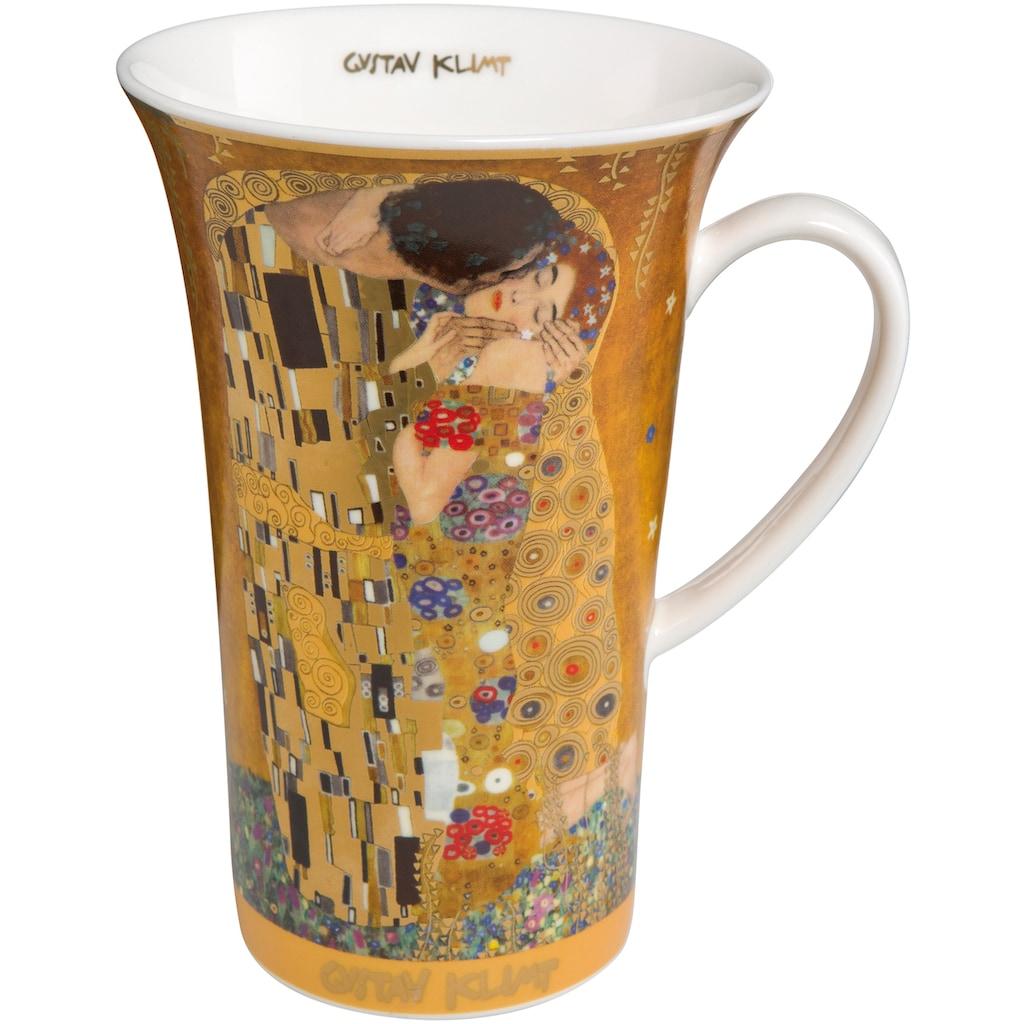 Goebel Becher »Der Kuss«, goldfarben