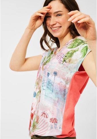 Cecil V-Shirt, mit femininem V-Ausschnitt kaufen