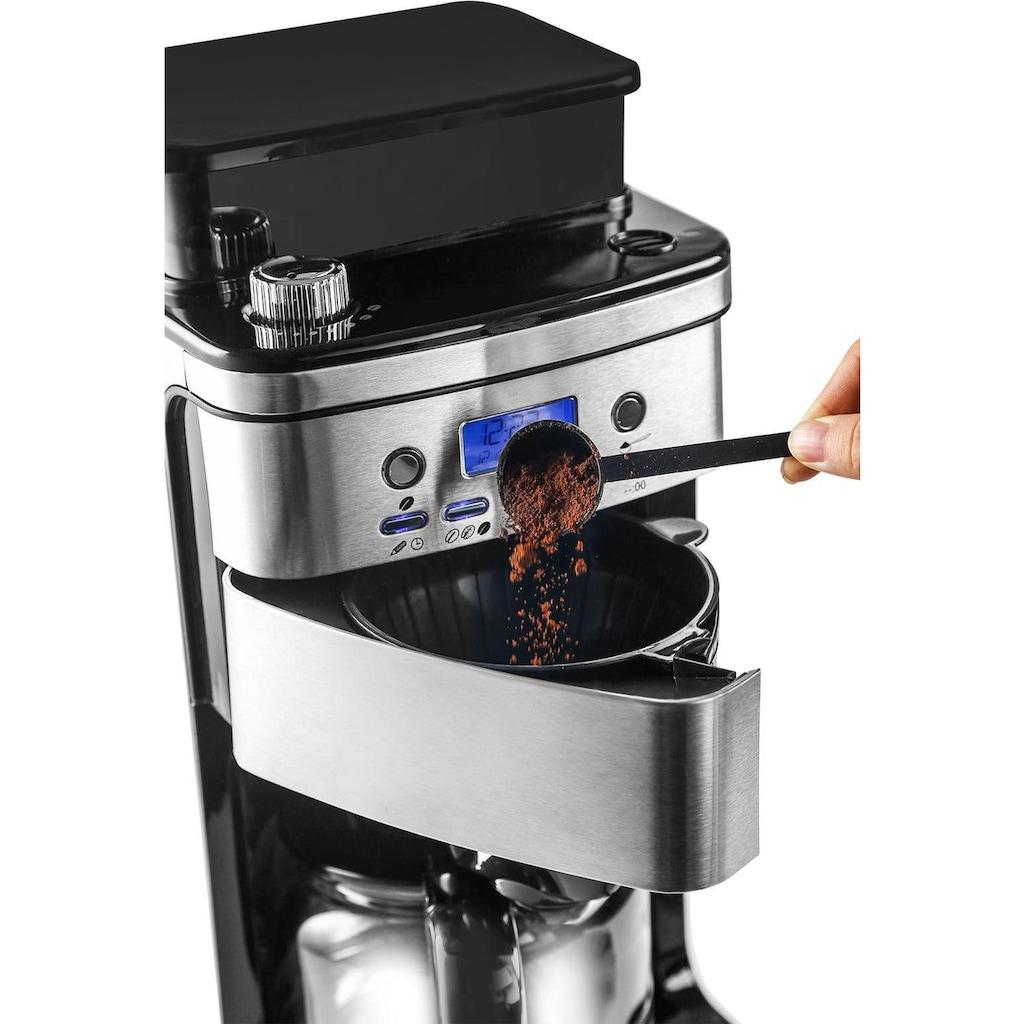 Privileg Kaffeemaschine mit Mahlwerk »CM4266-A«, Papierfilter, 1x4, für ganze Bohnen oder gemahlenen Kaffee geeignet