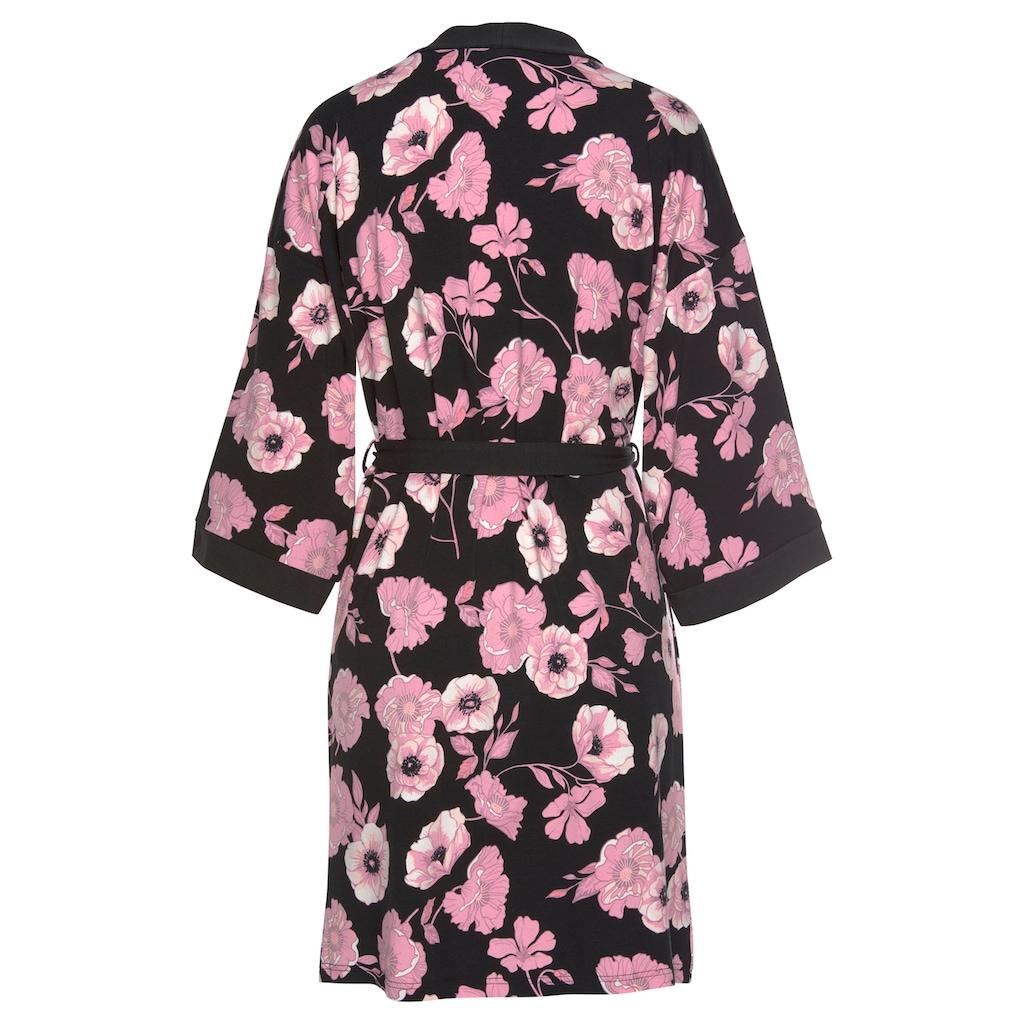 LASCANA Kimono, mit weiten Ärmeln und Bindeband