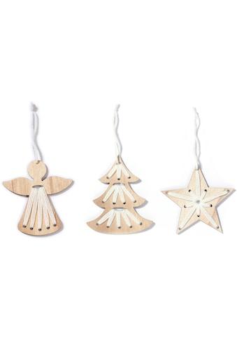 CHRISTMAS GOODS by Inge Dekohänger »Engel, Stern, Baum«, 3-fach sortiert kaufen