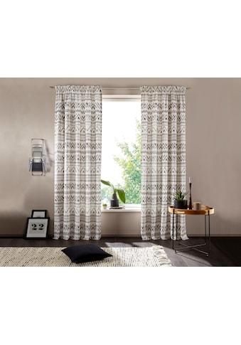 andas Vorhang »Kiras«, mit modernen Muster kaufen