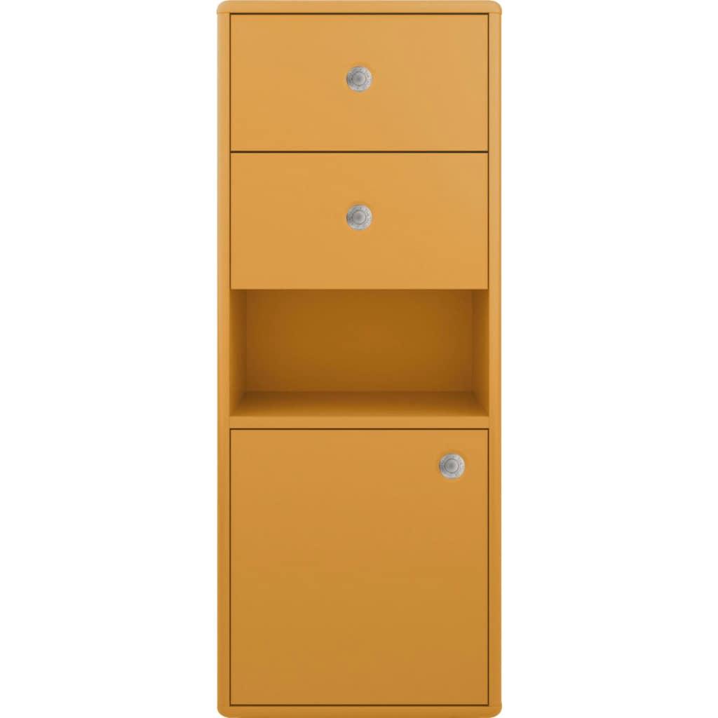 TOM TAILOR Unterschrank »COLOR BATH«, mit 1 Tür & 2 Schubladen, mit Push-to-Open, hängend montierbar, Breite 40 cm