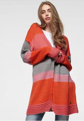AJC Longstrickjacke, im Colorblocking-Design kaufen