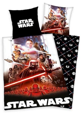 Star Wars Wendebettwäsche »Star Wars 9«, mit allen Darstellern kaufen