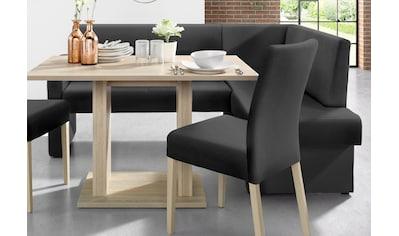 Eckbank »Umag«, Sitz und Rücken gepolstert, verschiedene Qualitäten kaufen