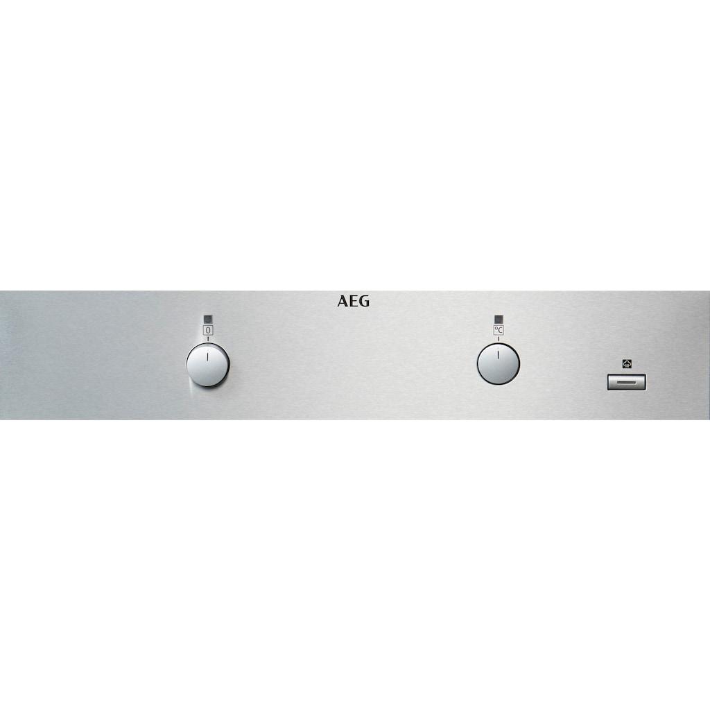 AEG Einbaubackofen »BEB350010M«, BEB350010M, SteamBake – Feuchtigkeitszugabe