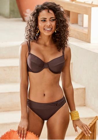 s.Oliver Beachwear Bügel-Bikini-Top »Rome«, in verschiedenen Unifarben kaufen