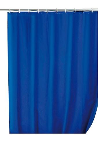 WENKO Duschvorhang »Uni«, Breite 180 cm, Höhe 200 cm, Textil (Polyester) kaufen