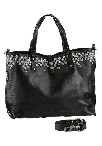Campomaggi Shopper »Studs leather Bag«, aus hochwertigem Leder mit Nieten besetzt kaufen