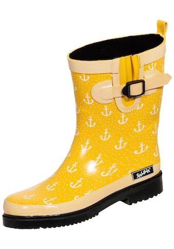 Gummistiefel »Damen Regenstiefel Marleen gelb/multi« kaufen