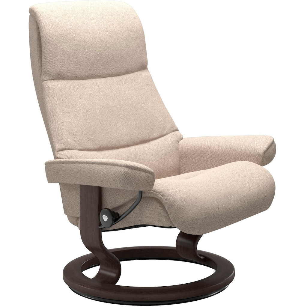 Stressless® Relaxsessel »View«, mit Classic Base, Größe S,Gestell Wenge