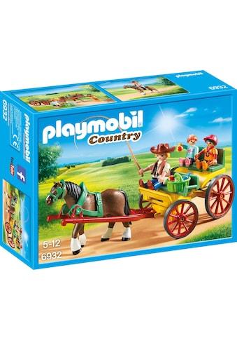 Playmobil® Konstruktions-Spielset »Pferdekutsche (6932), Country«, Made in Germany kaufen