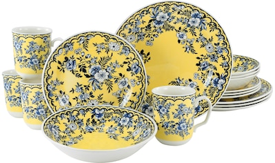 CreaTable Kombiservice »Ming Flower«, (Set, 16 tlg.), traditionelle, fernöstliche Motive kaufen