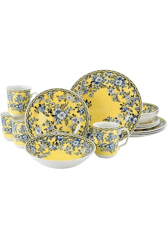 CreaTable Kombiservice »Ming Flower«, (Set, 16 tlg.), traditionelle, fernöstliche Motive kaufen