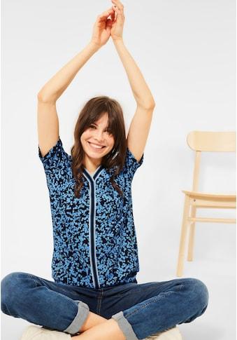 Cecil V-Shirt, mit Kontraststreifen kaufen