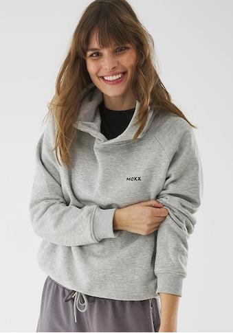 Mexx Kapuzensweatshirt, mit Kordelzug am Saum und Rücken-Print kaufen